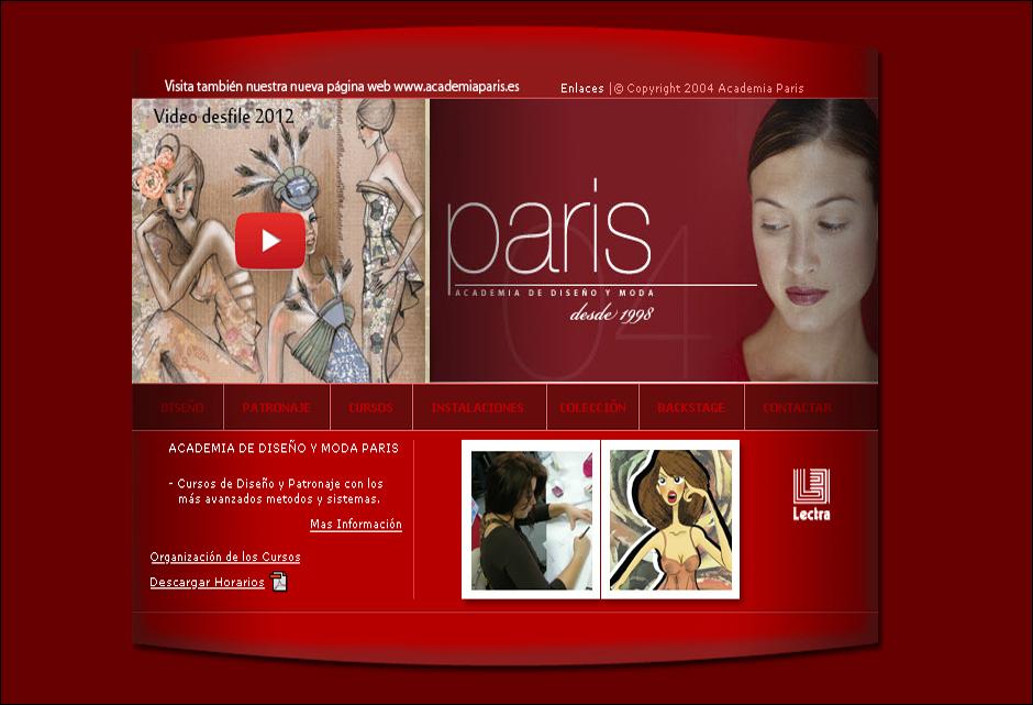 Academia diseño y moda París