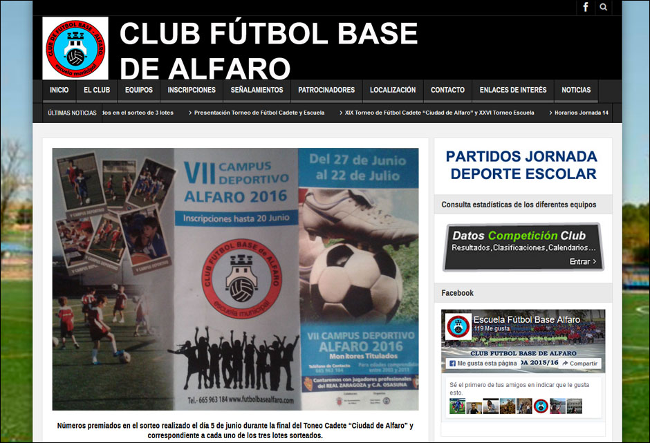 futbol base alfaro