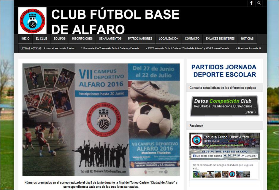 club futbol base de alfaro