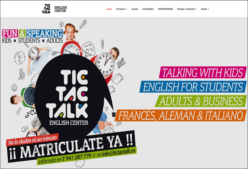 Academia de Inglés Tic Tac Talk